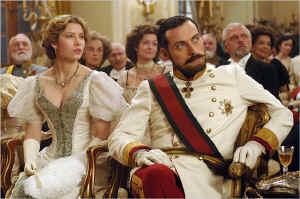 Jessica Biel (Sophie) and Rufus (Prince Leopold)