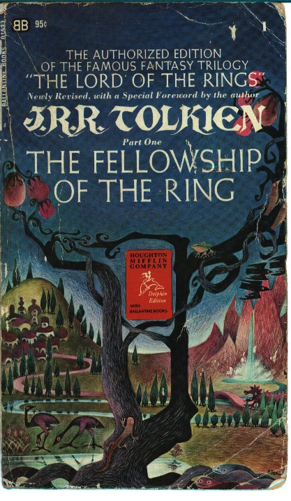 an analysis of the book the fellowship of the ring by jrr tolkien