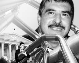 Ильгар Ахундов  на фотоколлаже Александра  СЕРГЕЕВА с ресурса idelo.ru