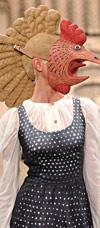 Модельер Алена Ахмадулина превращает людей в бестий - злая пародия гламура  на спектакль Холстомер. Фото с ресурса  alenaakhmadullina.com